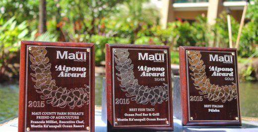 three Maui awards