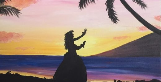 silhouette of Moana