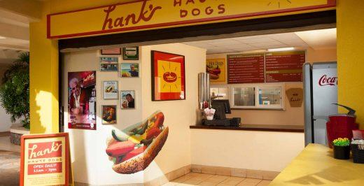 Hank's Haute Dogs store interior