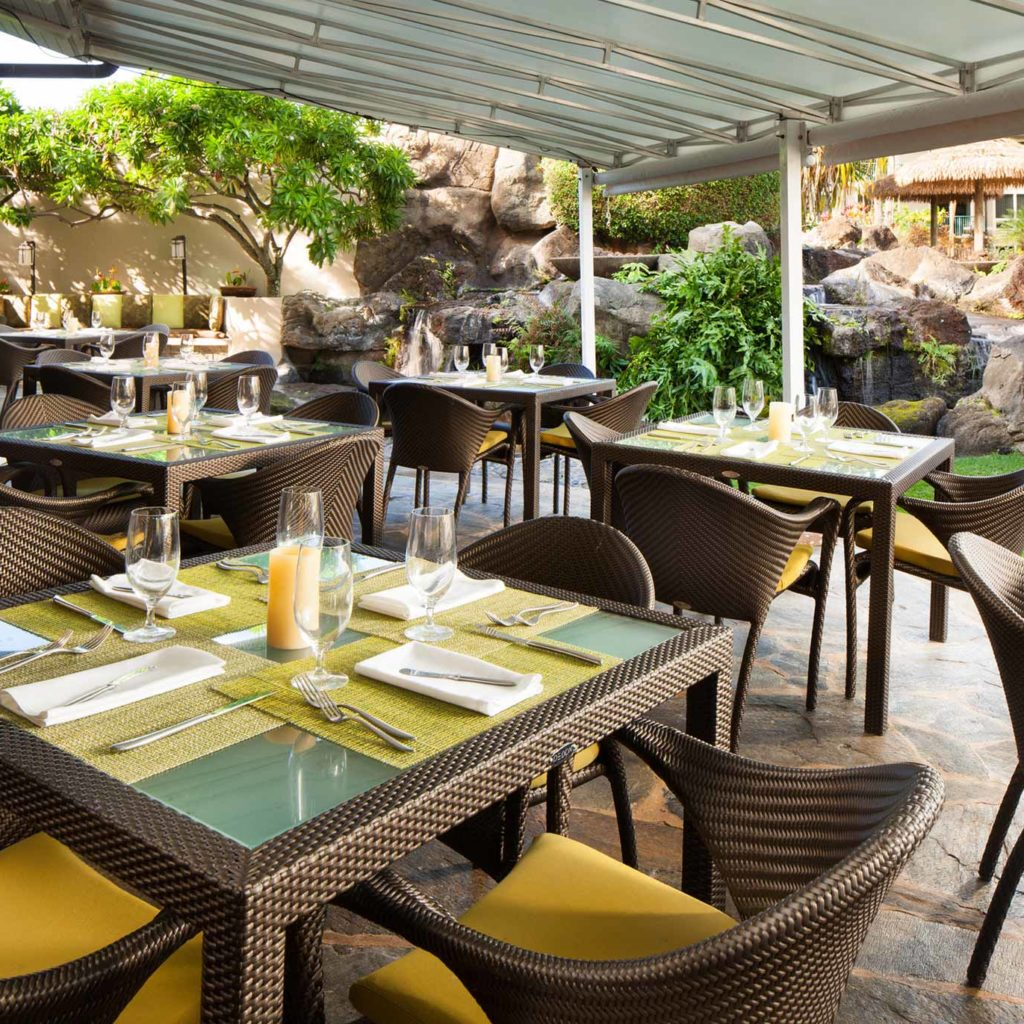 Nanea Restaurant Bar Princeville Dining Marriott Hawaii