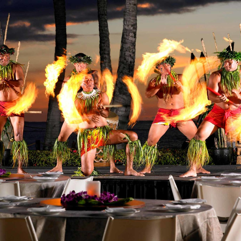 Wailele Polynesian Luau Maui Dinner Show Marriott Hawaii