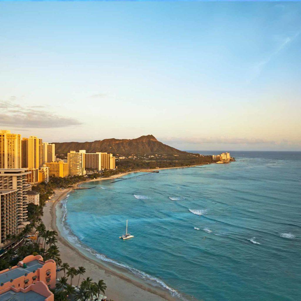 Contea Di Honolulu Hawaii waikīkī beach