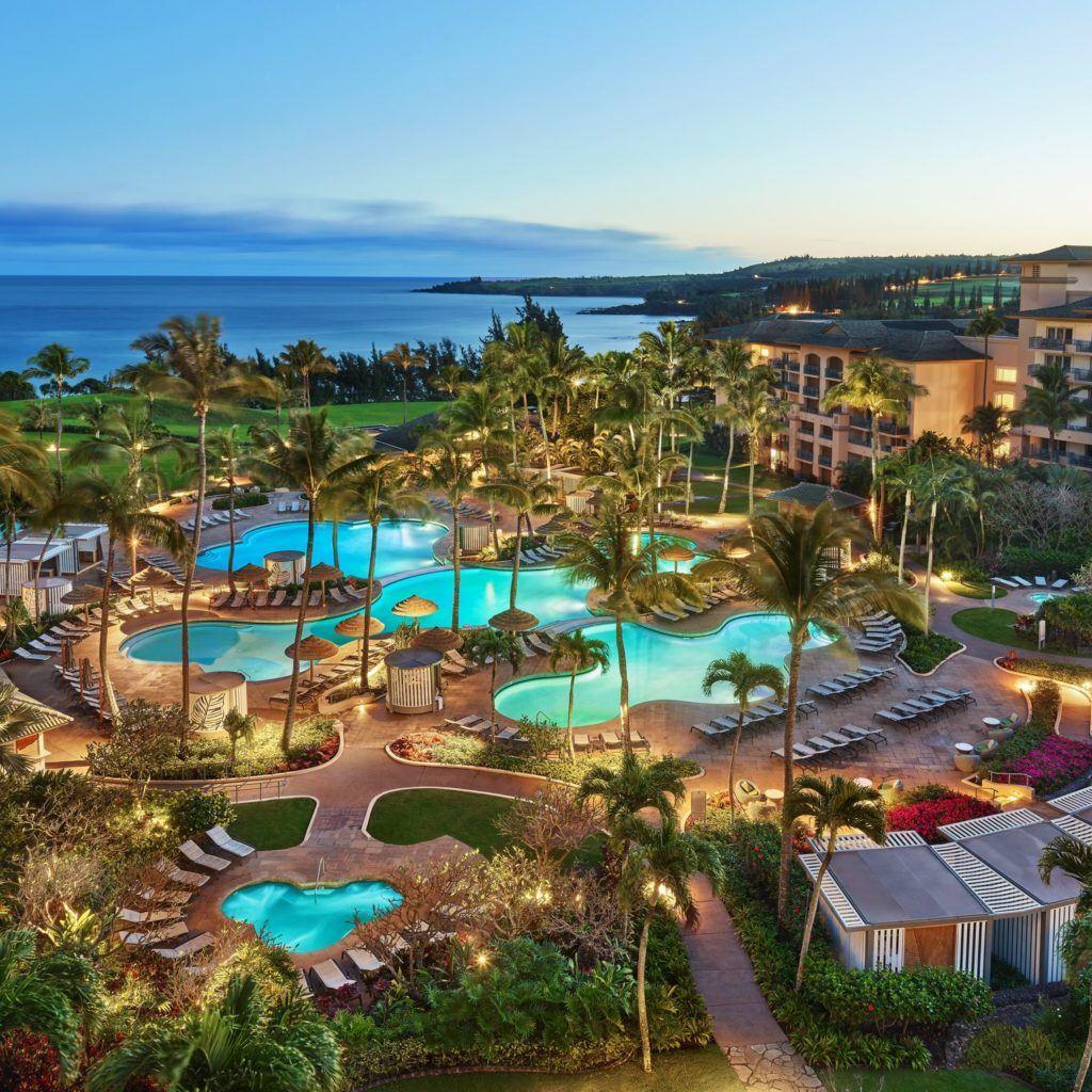 Kapalua Hawaii Map.The Ritz Carlton Kapalua Maui Hotel Marriott Hawaii