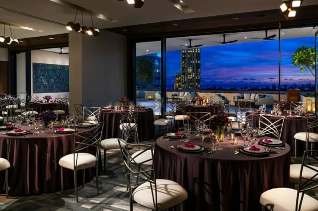 waikiki luxury hotel meeting & event space