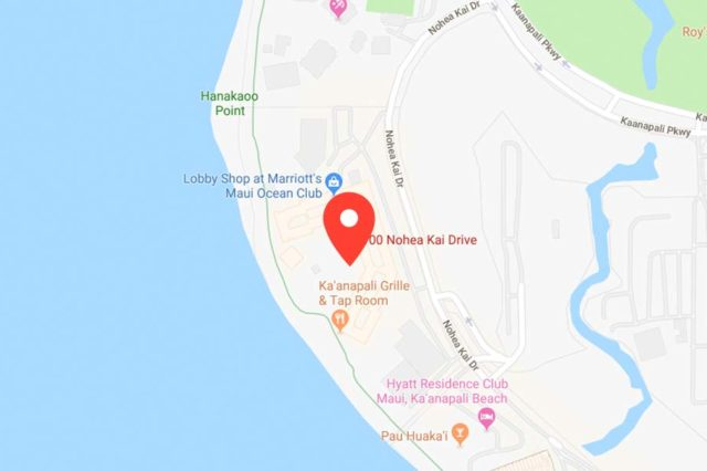 Google Map at Nohea Kai Drive