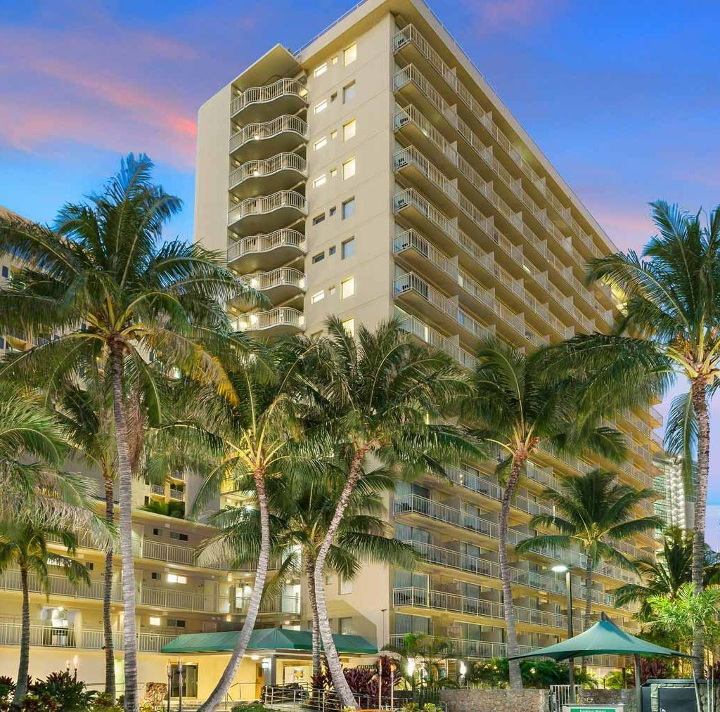 Courtyard By Marriott Waikiki Beach Oahu Hotel Marriott