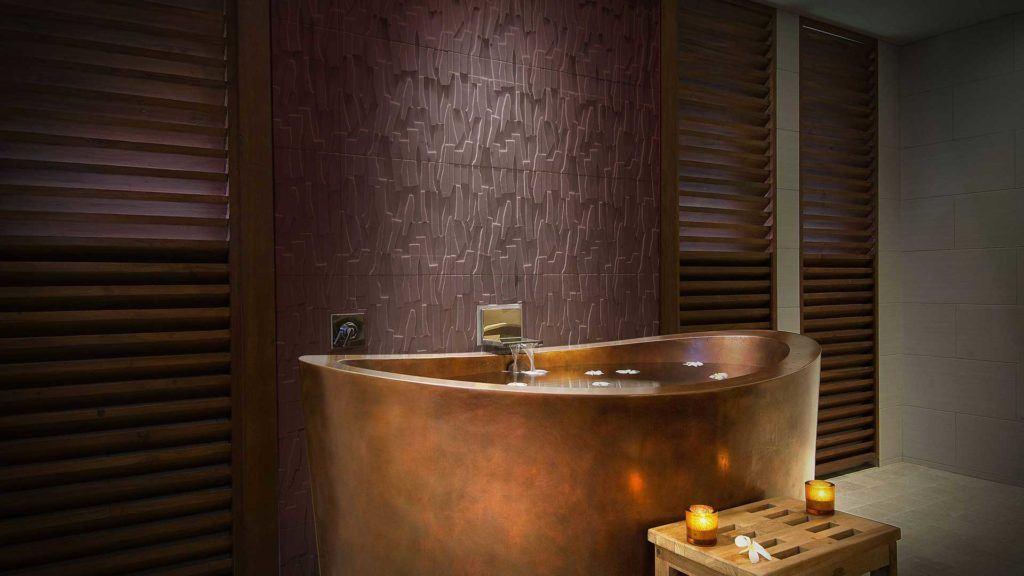 brown tub