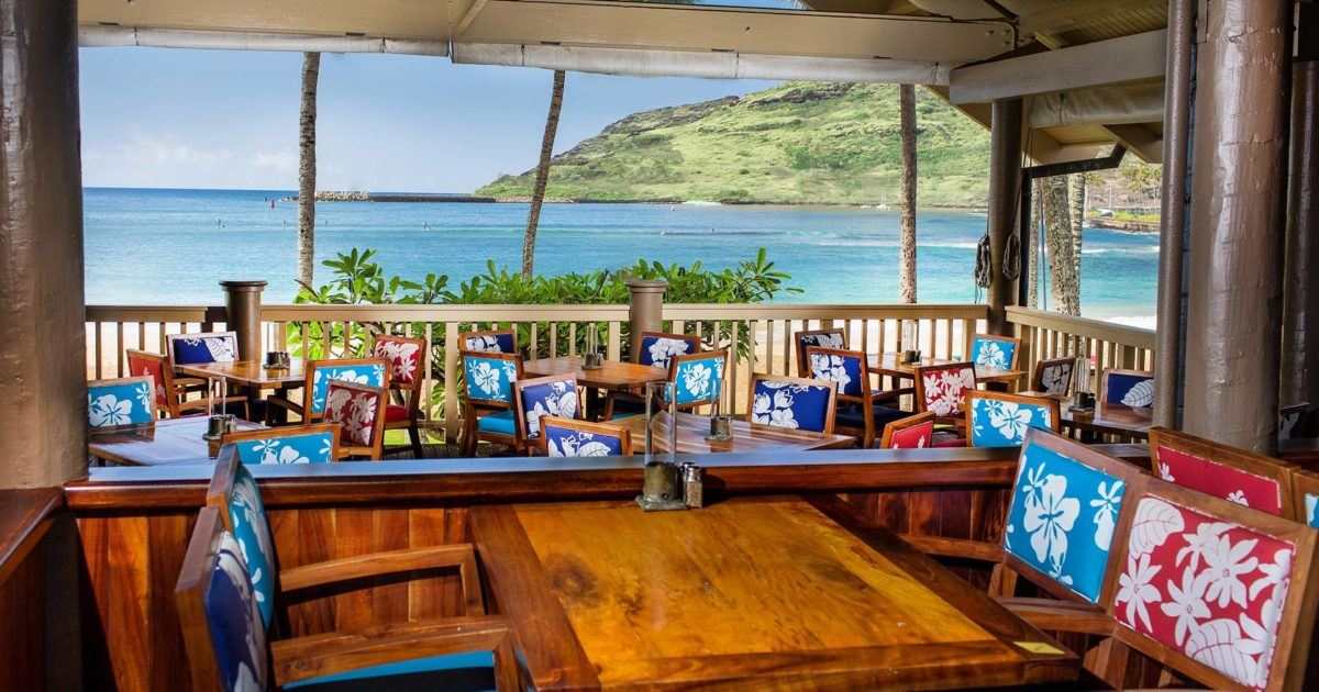 Duke S Kauai Seafood Restaurant Marriott Hawaii