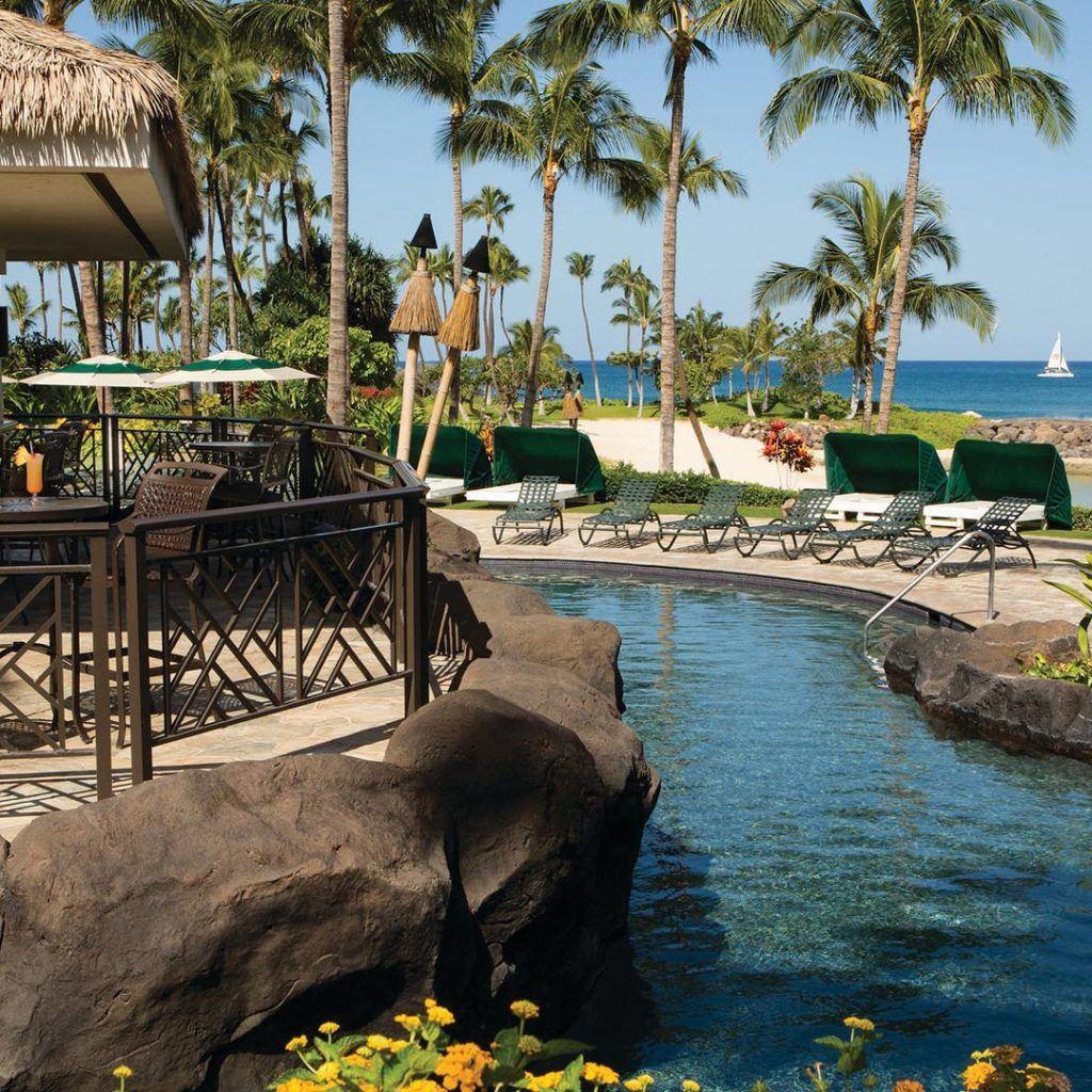 Nai A Pool Bar Outdoor Oahu Bar Marriott Hawaii