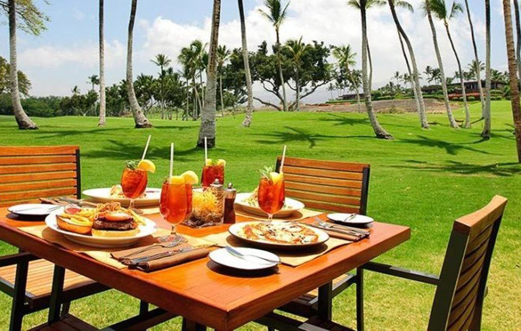 Number 3 Big Island Golf Course Restaurant Marriott Hawaii