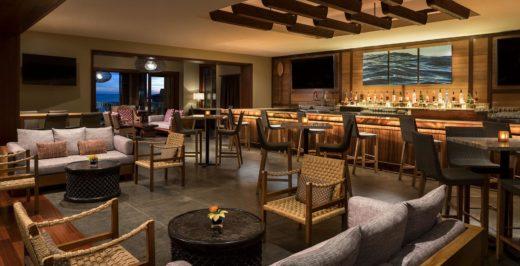 empty hotel restaurant
