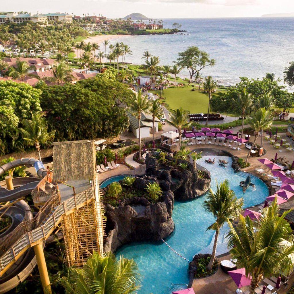 Nalu Pool Bar Wailea Cocktail Bar Marriott Hawaii