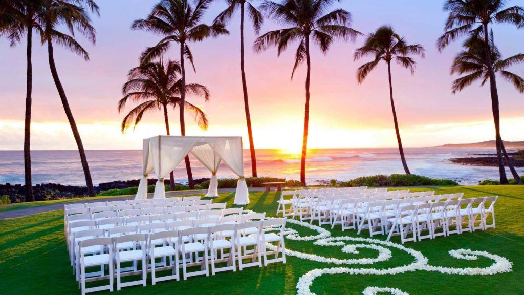 Wedding In Hawaii.Weddings Marriott Hawaii
